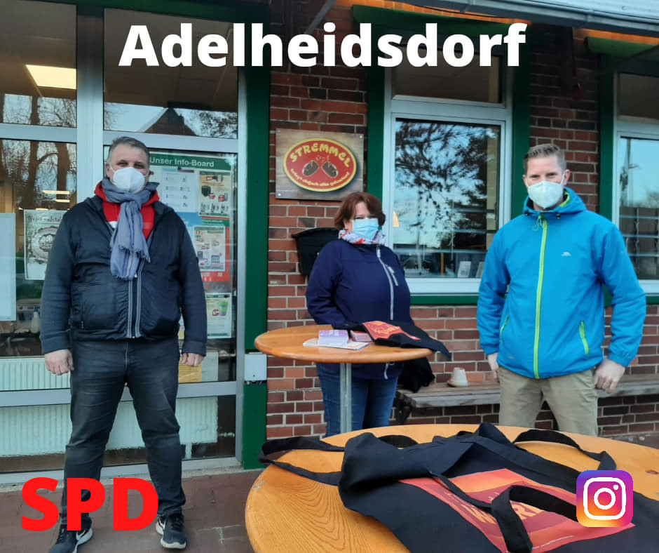 Internationaler Frauentag 2021 in Adelheidsdorf